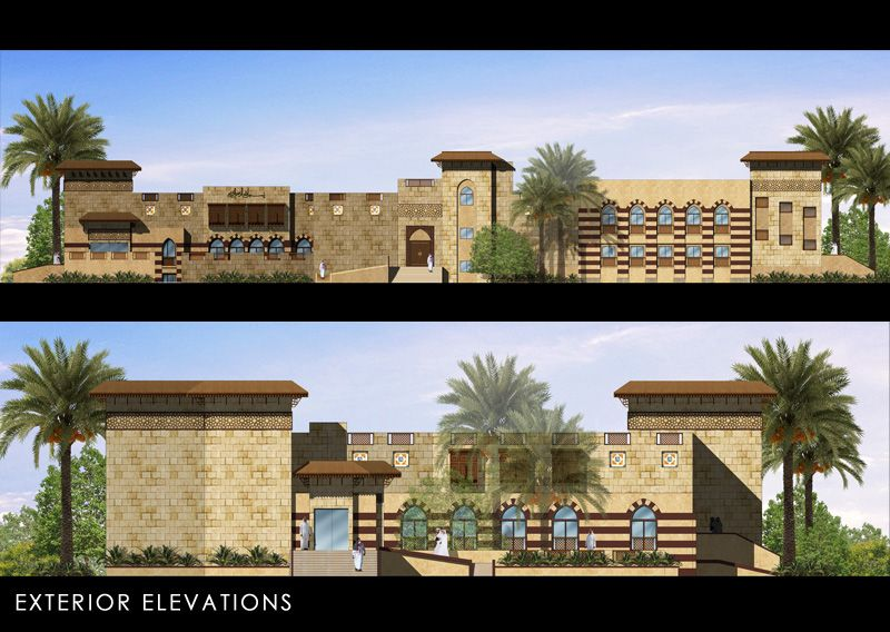 Modern Architecture Elevation modern islamic architecture elevation - بحث google | islamic