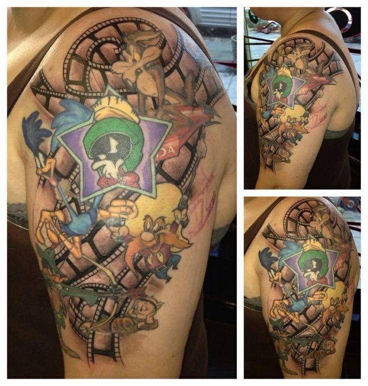 Looney Toons Tattoo Ideas Cool Tattoos Inspired By Looney Tunes Nerdy Tattoos Tattoos Mom Tattoos