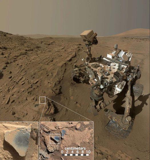 Tähdet ja avaruus: Mars-kivestä löytyi merkkejä happipitoisesta ilmakehästä
