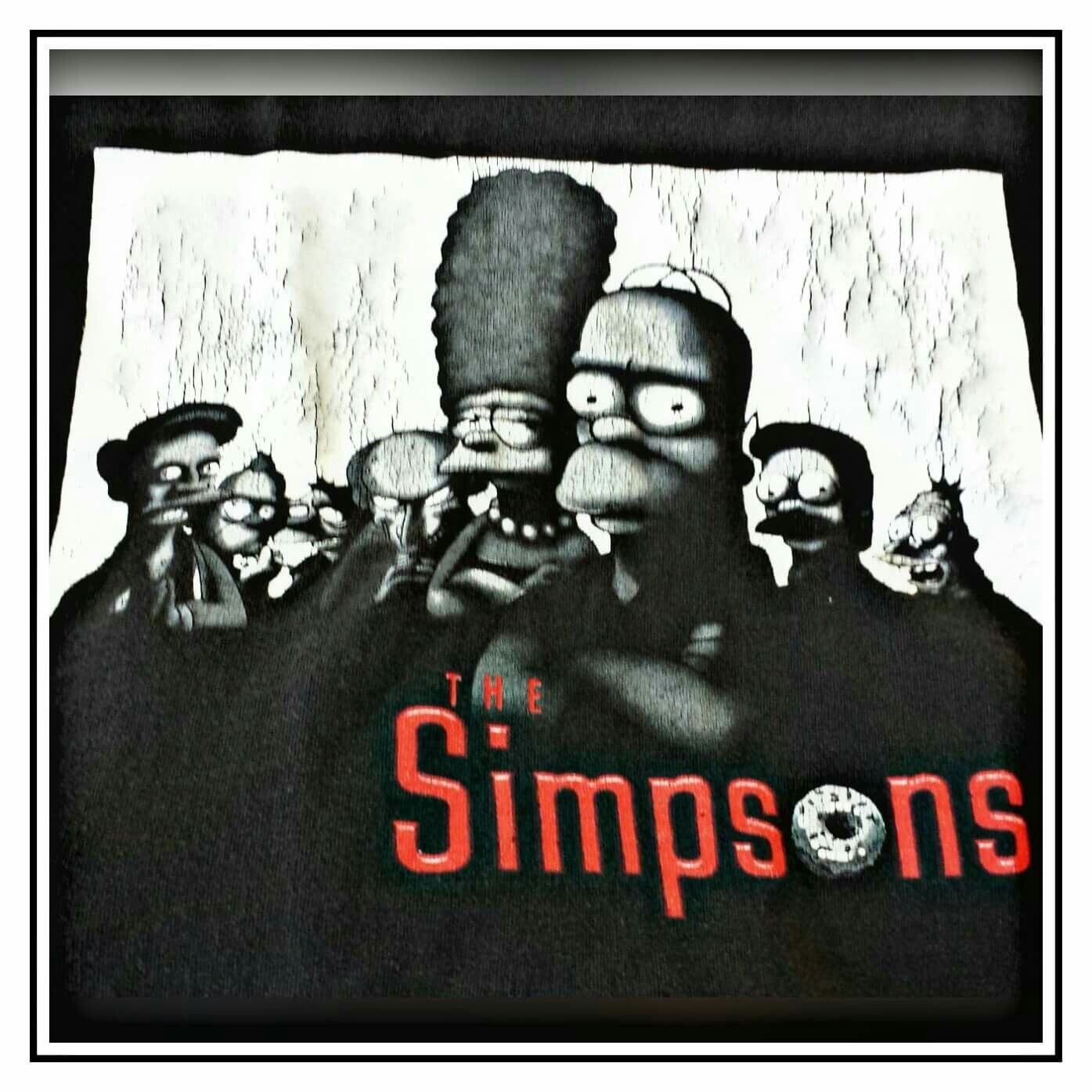 The Simpsons tshirt