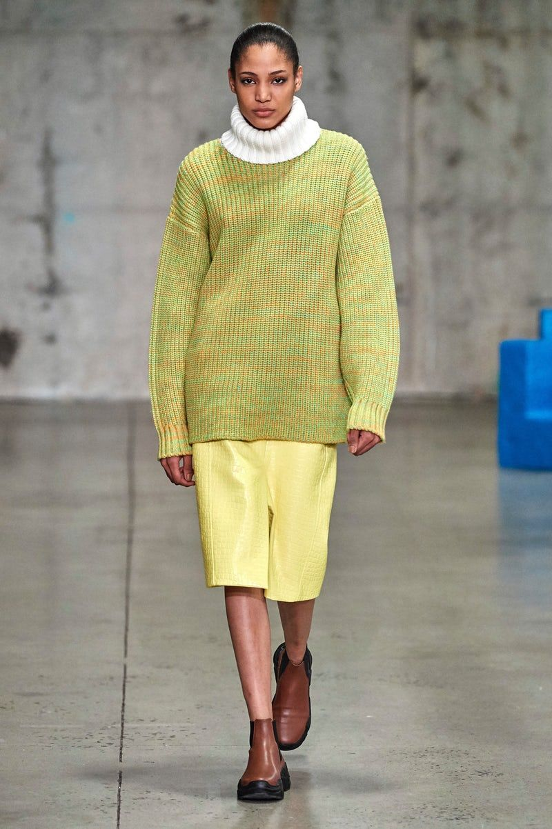 3c96ed966 Tibi in 2019 | FW Fall 2019 | Fashion, Sweater fashion, How to wear