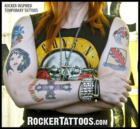 Tattoo Ideas Guns And Roses: Axl Rose Tattoo, Rose