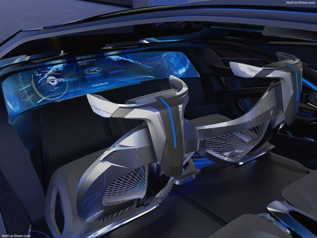 Chevrolet concept car interior