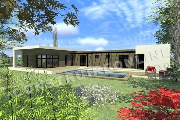 ForumConstruire.com Vous Propose 391 Plans De Maison à Télécharger ! |  Maison Contemporen | Pinterest | Plans De Maison, Plans Et Constructiu2026