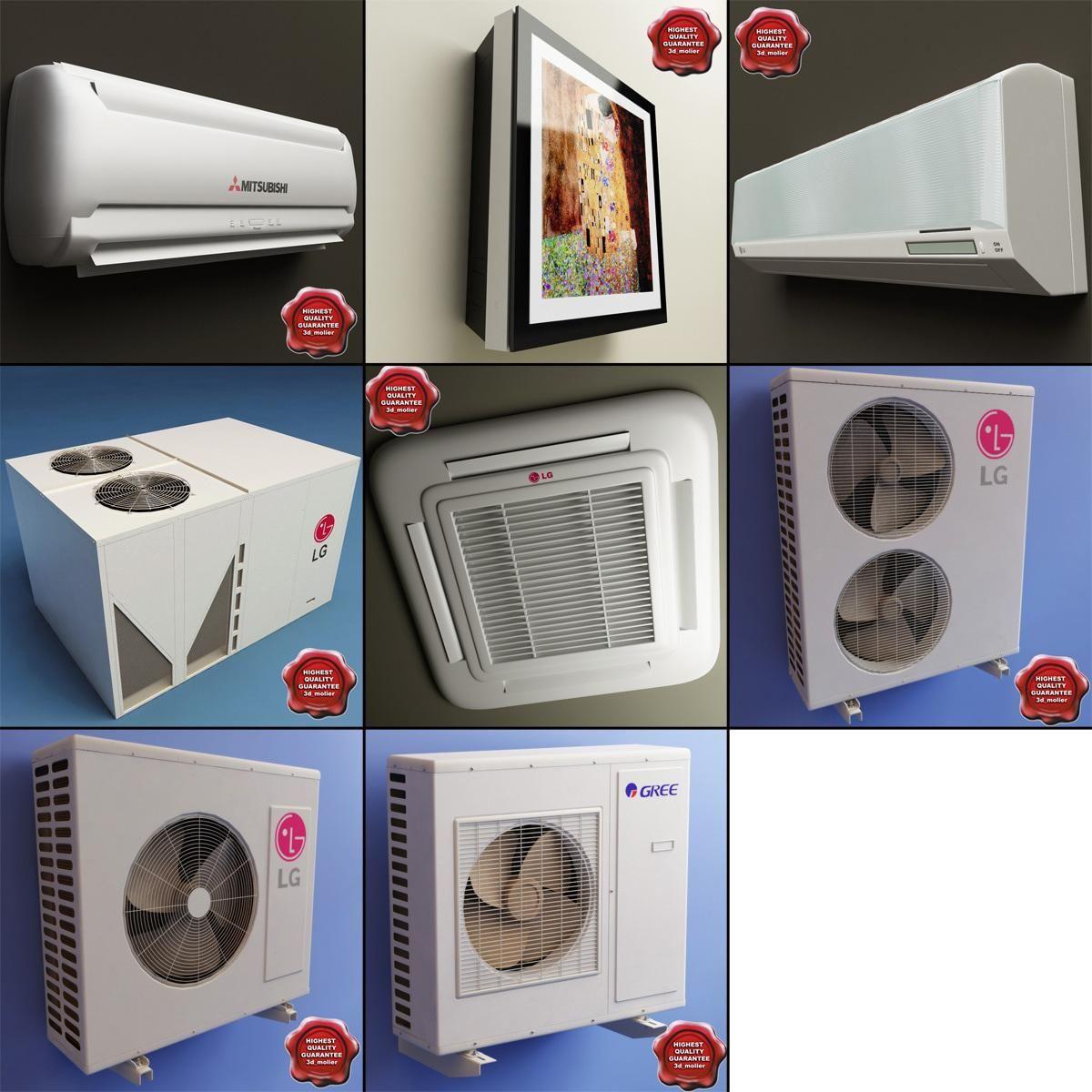 lg art cool air conditioner