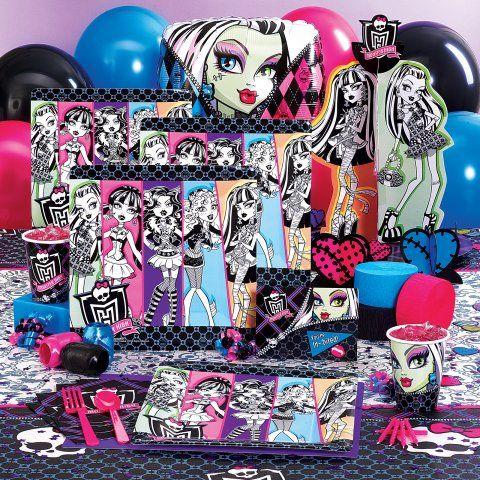 Monster High Party Supplies Nova Birthday Pinterest Monster