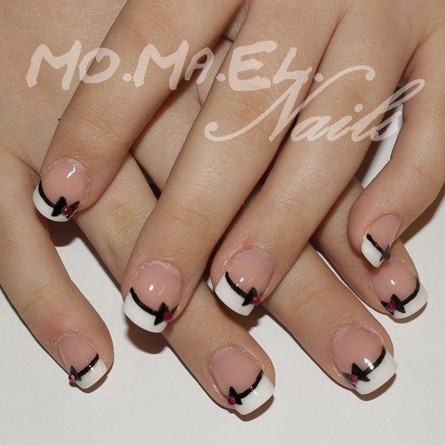 Bows - Nail Art Gallery | Everything Nails | Pinterest | Bow nail ...