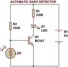 Dark light sensor | Pork | Pinterest