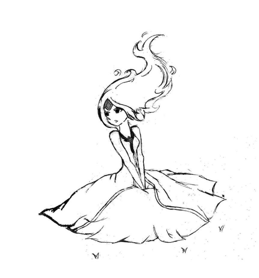flame princess coloring pages anime - photo#12