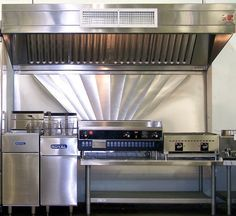 Commercial Kitchen Hood Design Mesmerizing Small Cafe Entry Design  Small Restaurant Kitchen Design Review