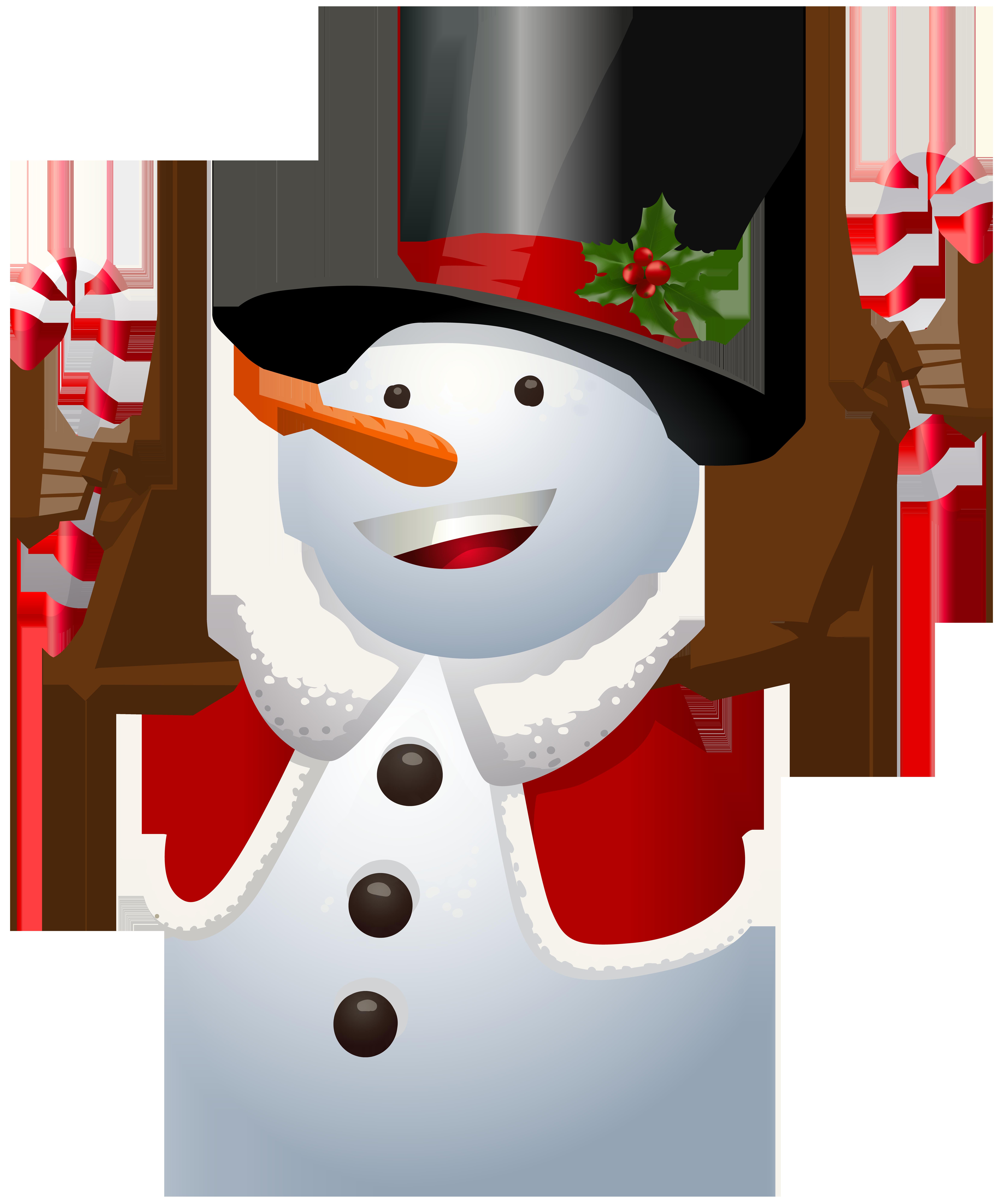 Snowman PNG Transparent Clip Art Image Apprendre à