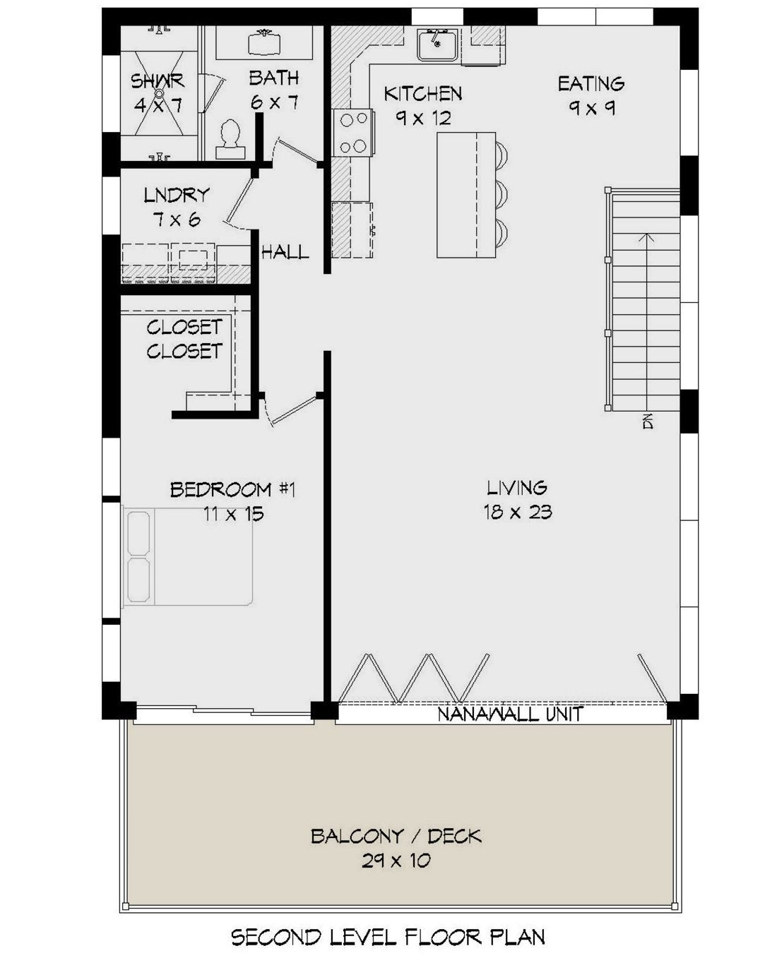 House Plan 940 00183 Modern Plan 1 309 Square Feet 1 Bedroom 1 5 Bathrooms Garage Apartment Floor Plans House Plans Carriage House Plans