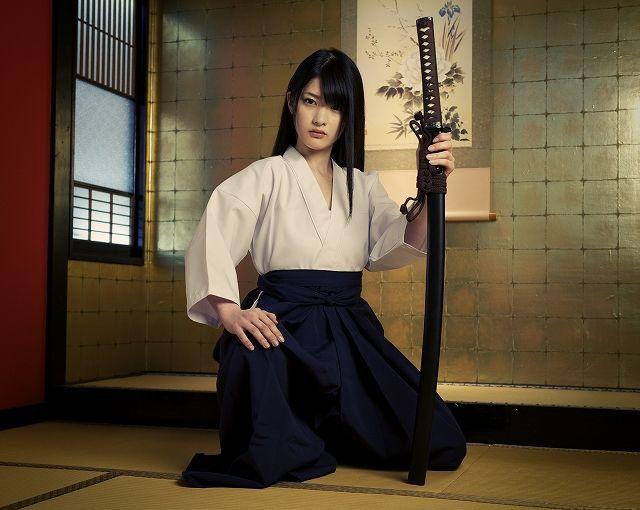 Aikido girl | Female samurai, Katana girl, Japanese warrior - Learn Aikidio At Home