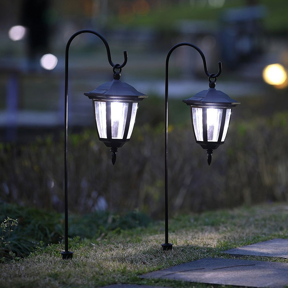 Details About Outside Hanging Solar Lights Path Way Decorative Outdoor Yard Garden Lawn 2 Pack Hanging Solar Lights Solar Lights Garden Solar Lights
