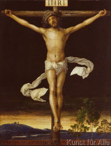 Albrecht Dürer - Christus am Kreuz