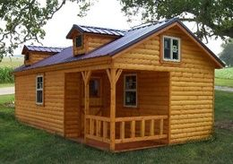 Beau AMISH BUILT LOG CABINS There Are About 5 Different Styles Of Pre Fab Log  Cabins