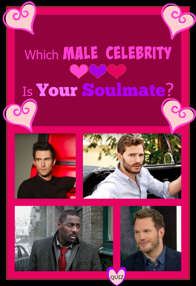 Which Male Celebrity Is Your Soulmate Celebrities Pinterest