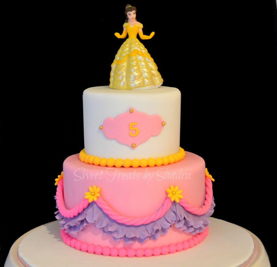 Disney Princess Cake Cakes and Cupcakes for Kids birthday party