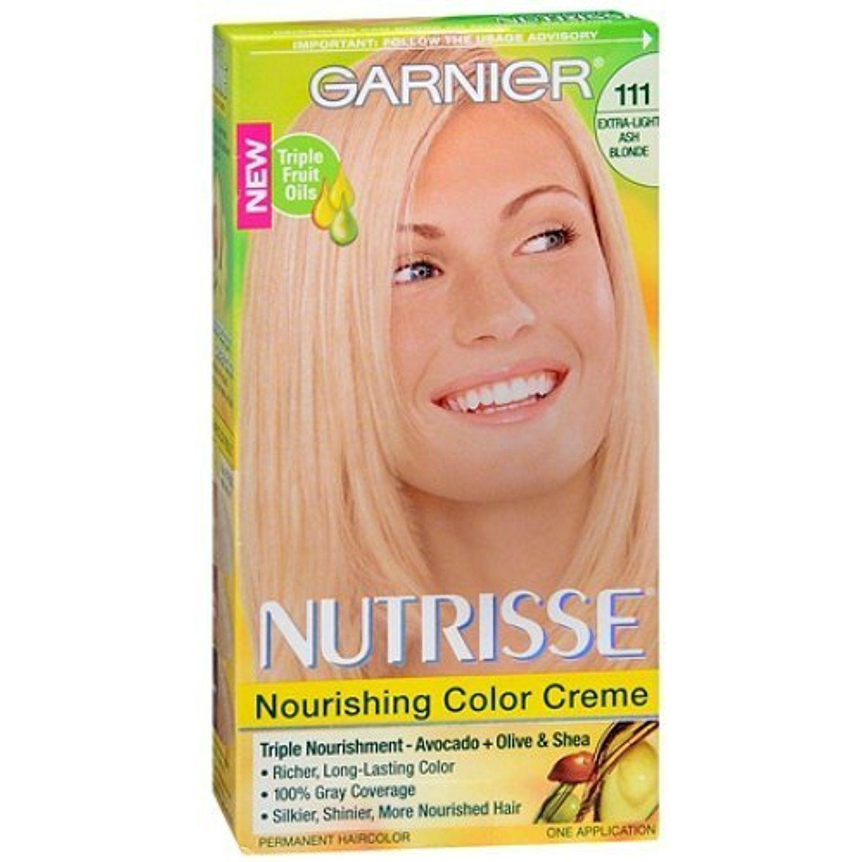 Garnier Nutrisse Level 3 Permanent Creme Haircolor Extra Light