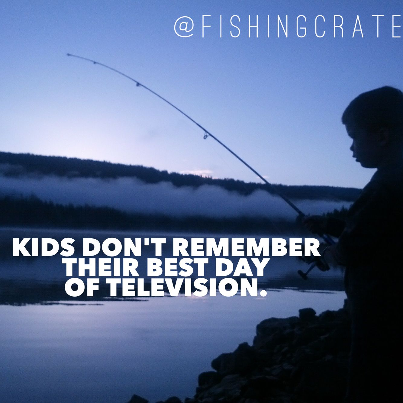 Can you remember you best day of television? Www.fishingcrate.com