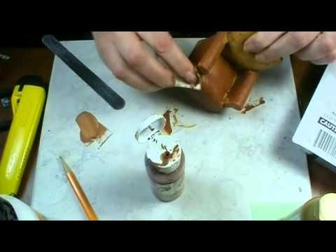 Miniature Chair Makeover - YouTube