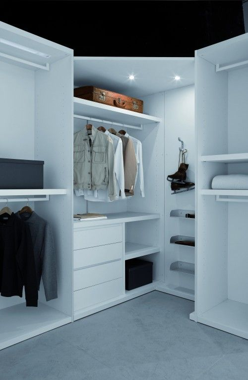 Nice lighting   Organize/Closets   Pinterest   Walk in ...
