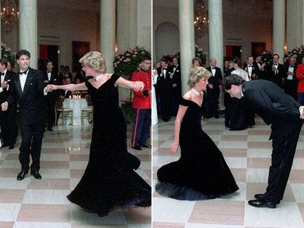 La incomodidad de Lady Di con los famosos | Lady di, John travolta, Famosos