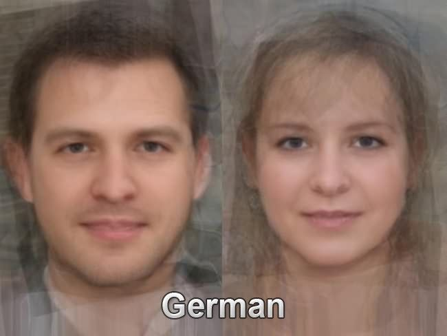 Germanic facial features