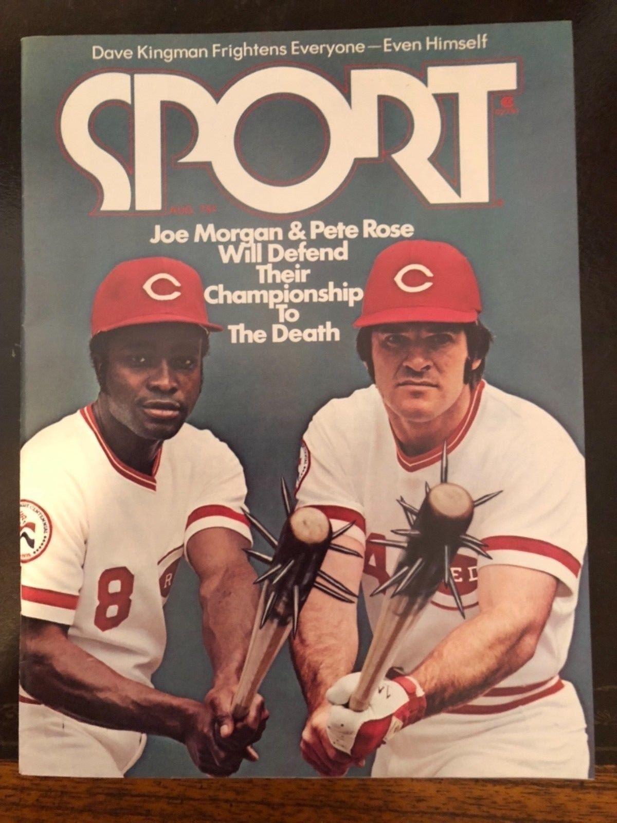 Sport Magazine 1976 Pete Rose Joe Cincinnati reds