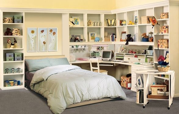 Craft Room Murphy Bed Learn More Http Www Closetfactory Com Wall Beds Guest Bedroom Murphy Bed Murphy Bed Ikea