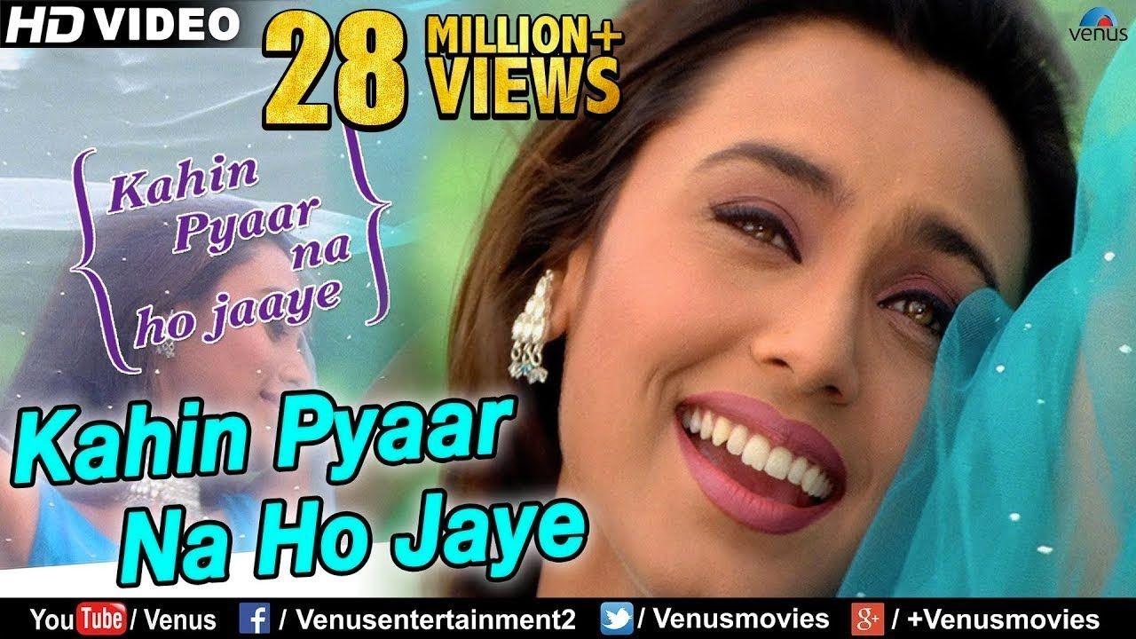 Kahin Pyaar Na Ho Jaye Hd Full Video Song Salman Khan Rani Mukherje Songs Bollywood Music Videos Bollywood Movie Songs