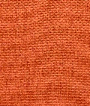 Shop Dark Orange Polyester Linen Fabric At
