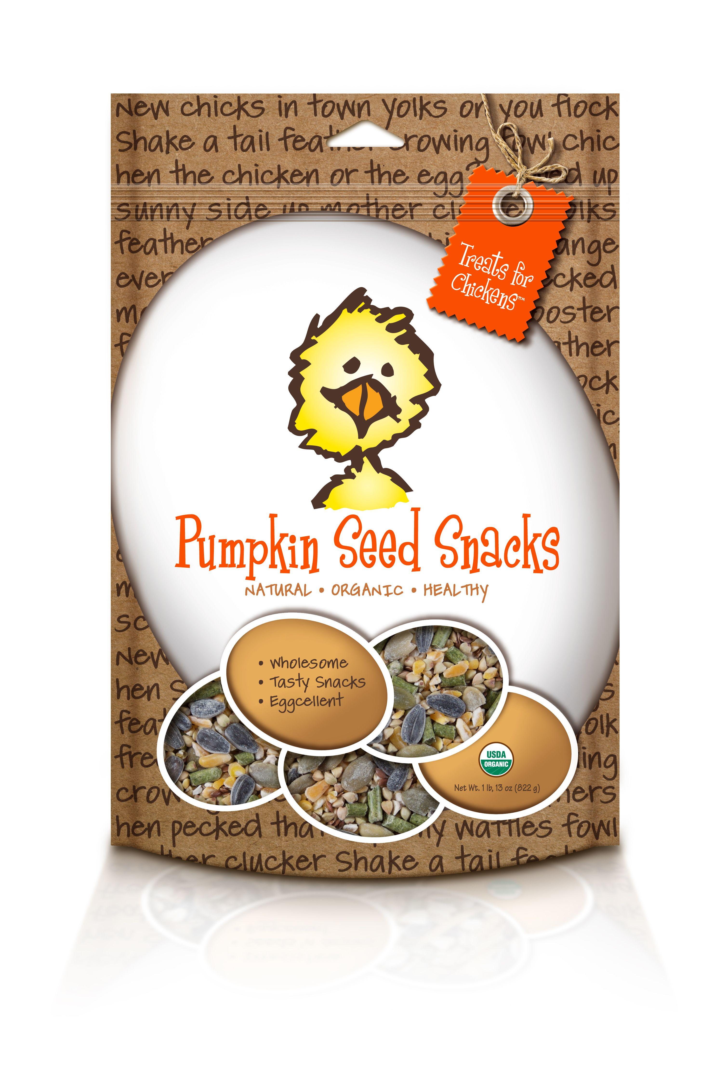 organic pumpkin seed snacks pet chickens