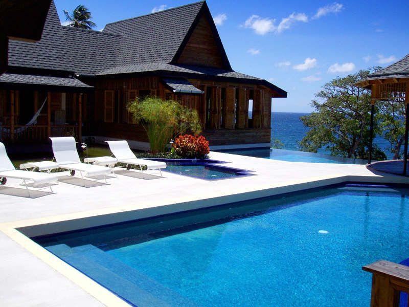 Ohana Villa Tobago Caribbean Homes Caribbean Villas Architecture
