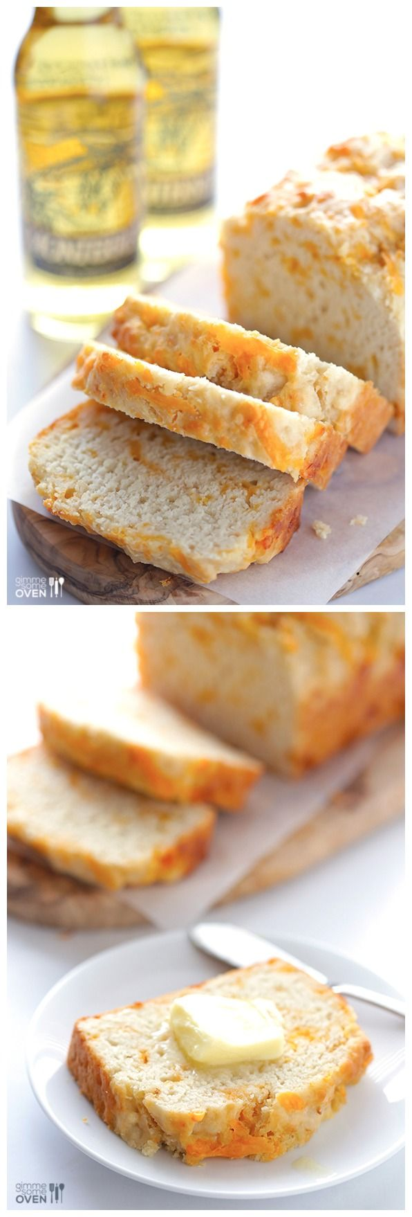 Garlic Cheddar Beer Bread Ingredients: 3 cups Baker's ...