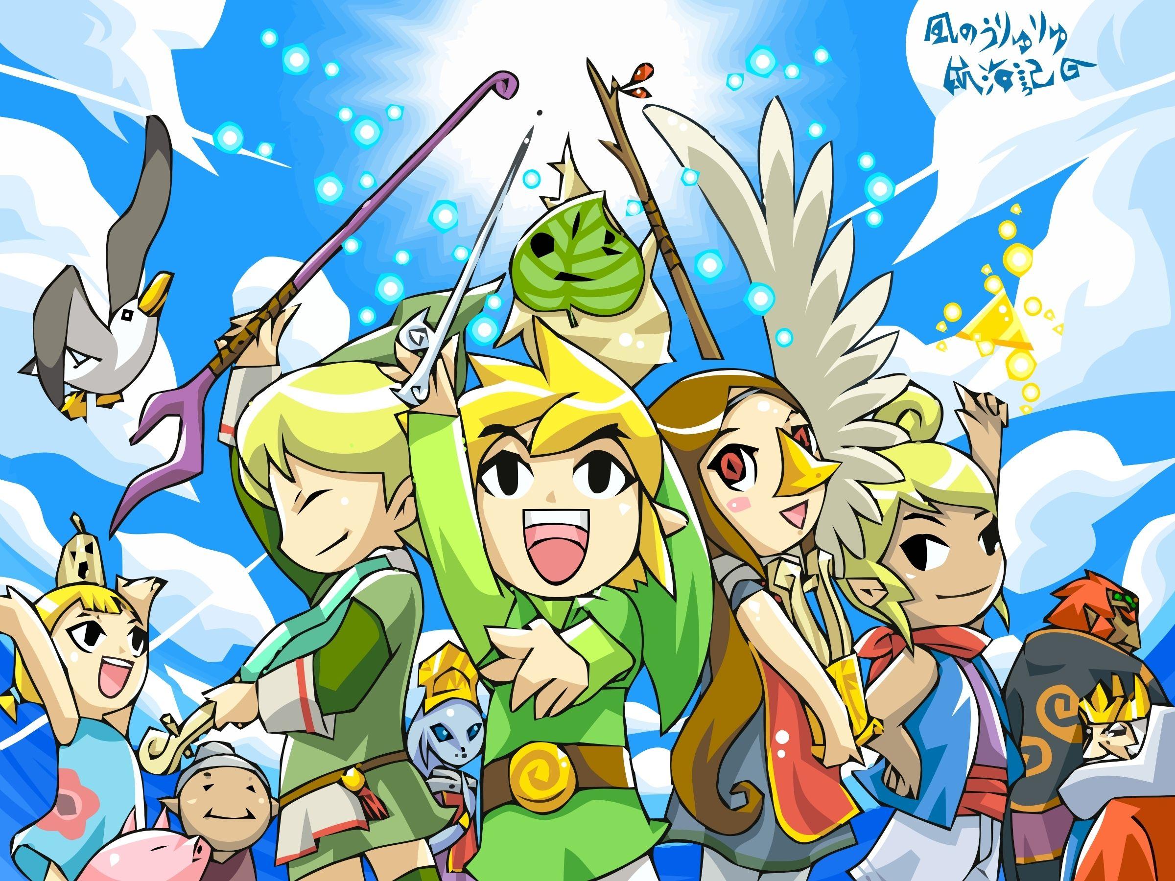 The Legend Of Zelda The Wind Waker Wallpaper Game Wallpapers