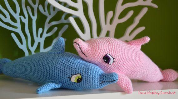 Amigurumi Tutorial Animali : Delfino amigurumi crochet delfino amigurumi softie crochet