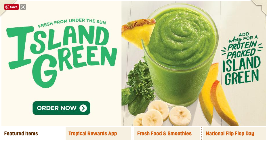 Colors From Tropical Smoothie Ad Smoothie Recipes Food Tropical Smoothie