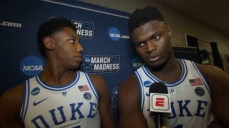 Zion Williamson Basketball players nba, Duke blue devils