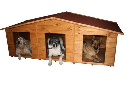 Casetas para perros gatos hurones conejos en madera de - Casas para gatos de madera ...