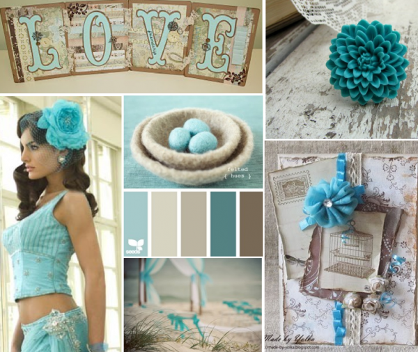 Turquoise Brown Subdued With Images Grey Color Palette