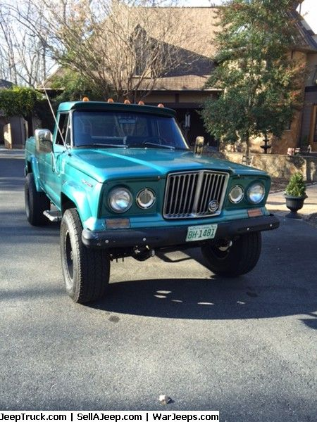 Used Jeeps And Jeep Parts For Sale 1969 Jeep Gladiator J2000 350 V8 Pickup Truck Jeep Gladiator Jeep Parts For Sale Jeep Gladiator For Sale