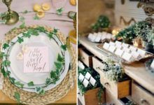 Idee Green(ery): 20 decorazioni con foliage