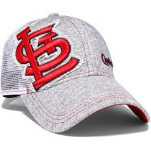 hot sale online f795a 14036 St. Louis Cardinals Womens M-Twist Trucker 9FORTY Adjustable Cap by New Era