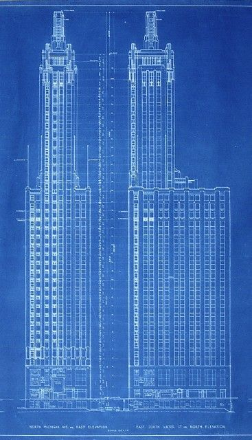 Chrysler building blueprint drafting pinterest chrysler chrysler building blueprint malvernweather Image collections