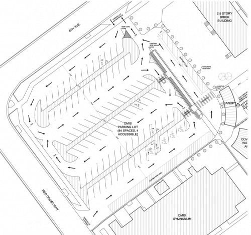 We Recently Updated The Proposed Parking Lot Plan For The