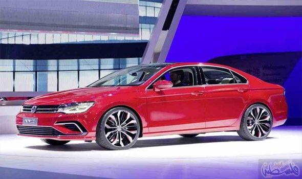 فولكس واغن تكشف عن السيارة الكوبيه الإختبارية متوسطة الحجم Volkswagen Jetta Volkswagen Cc Volkswagen