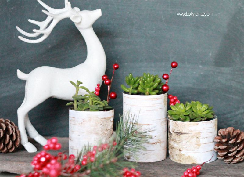 20 Christmas Decor Ideas {Link Party Features Simple christmas - simple christmas decorating ideas