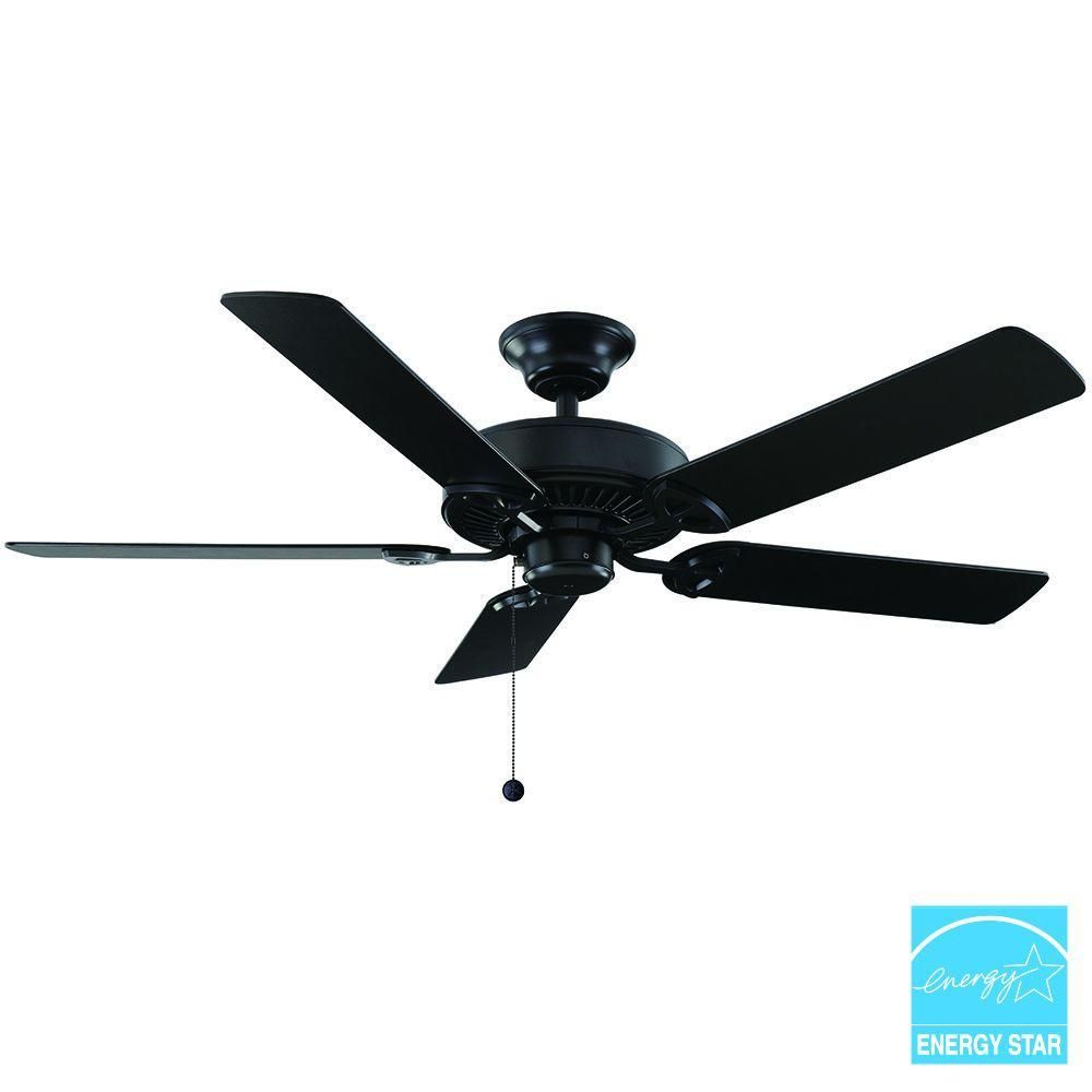 Natural iron ceiling fan 32764 the home depot