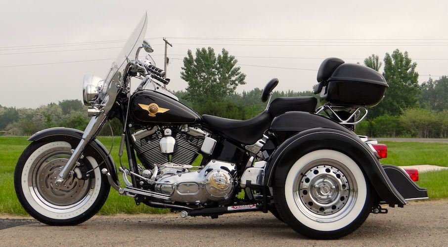 H D Fatboy Voyager Classic Motorcycle Trike Kit Trike Kits Motorcycle Trike Kits Harley Davidson Trike